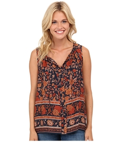 Lucky Brand  - Vintage Floral Tank Top