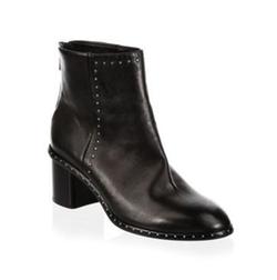 Rag & Bone - Willow Stud Leather Booties