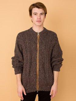 California Select Originals  - Zip Fisherman Sweater