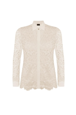 Sophie Cameron Davies - Lace Shirt