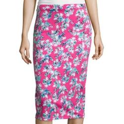 I Heart Ronson - Floral Midi Skirt