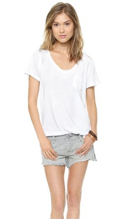 Free People  - Cotton Candy Wildfire Tee