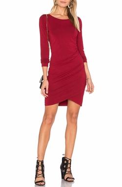 Bobi - Jersey Ruched Dress