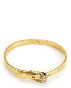 Juicy Couture - Pave Buckle Skinny Bangle