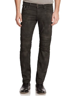 Ralph Lauren Black Label - Denim Moto Pants