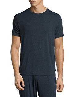 Derek Rose - Crewneck Short-Sleeve Knit Tee Shirt