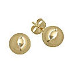 Infinite Gold - Ball Stud Earrings