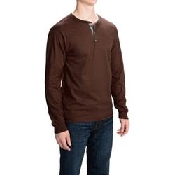 Hanes  - Beefy-T Henley Shirt