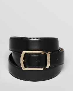 Montblanc - Curved Buckle Reversible Belt
