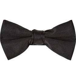 River Island - Black Bow Tie