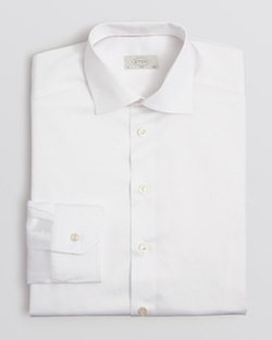 Eton - Solid Slim Fit Dress Shirt
