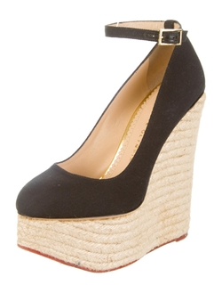 Charlotte Olympia - Espadrille Wedge Shoes