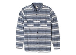 Rip Curl  - Bodie Striped Flannel Button-Down Shirt
