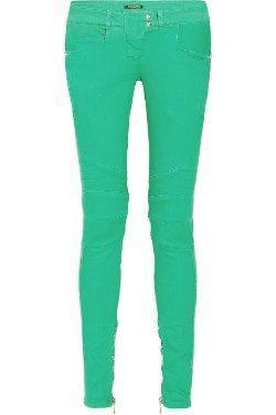 Balmain  - Mid-rise Skinny Jeans