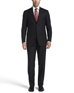 Isaia - Solid Wool Suit
