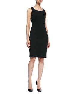 St. John Collection - Sleeveless Mid-Length Dress