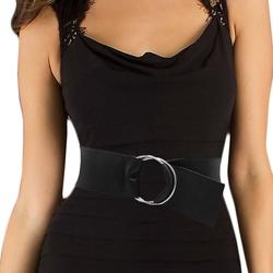 Luna - O-Ring Leather Cinch Belt