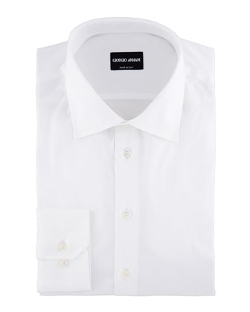 Giorgio Armani - Solid Dress Shirt