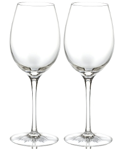 Waterford Stemware - Clear Red Wine Glasses