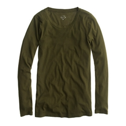 J.Crew - Tissue Long-Sleeve Tee Shirt