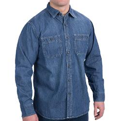 Authentic Denim - 2-Pocket Denim Shirt - Long Sleeve