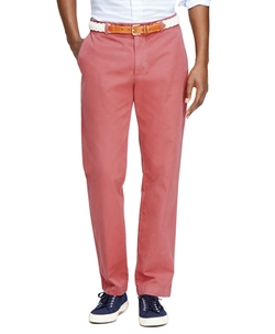 Brooks Brothers - Milano Fit Garment-Dyed Chinos