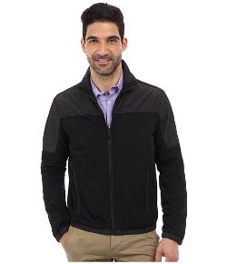 Calvin Klein - Mixed Media Nylon Windbreaker Jacket