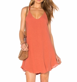 Lucca Couture - Round Hem Tank Dress