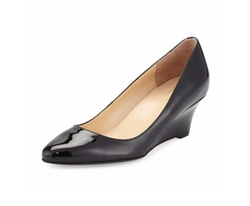 Cole Haan  - Catalina Patent Demi-Wedge Pumps