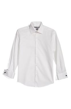 Dkny - Woven Tuxedo Shirt