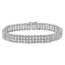 Allura - Row Tennis Bracelet
