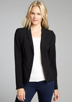 Elie Tahari - Wool Lindley Two Snap Jacket