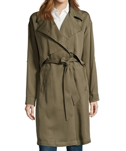 Vince Camuto - Belted Fluid Trench Coat