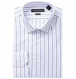 Vince Camuto  - Dobby Stripe Modern Fit Dress Shirt