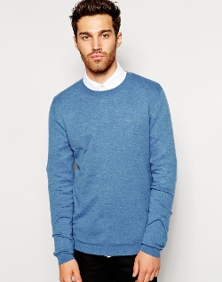 ASOS  - Sweater in Cashmere Blend