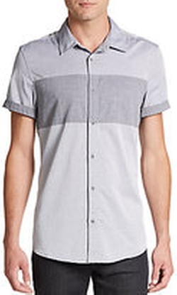 Buffalo David Bitton - Sagust Cotton Sportshirt