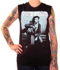 Rock World East - Girls Sleeveless T-Shirt - Life On Mars