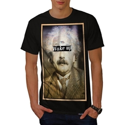 Wellcoda - Wake Up Cyclops Fun Einstein T-Shirt