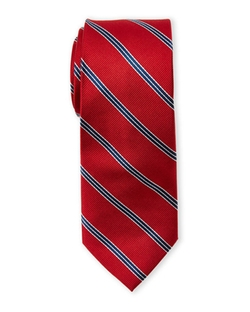 Pierre Cardin - Silk Stripe Slim Tie