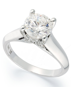 X3 - Certified Diamond Solitaire Engagement Ring