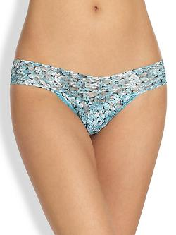 Hanky Panky  - Sequins Low-Rise Thong