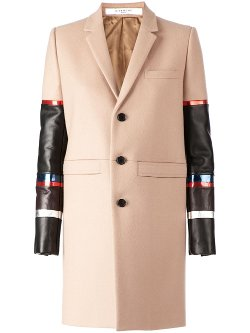 Givenchy - Contrast Sleeves Overcoat