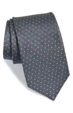 Michael Kors - Floral Dot Silk Tie