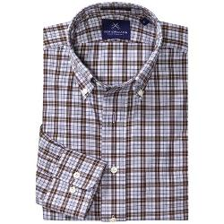 New England Shirt Company  - Borelli Plaid Shirt - Button-Up