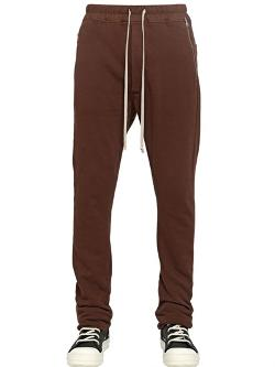 Rick Owens  - Drkshdw Cotton Jogging Trousers