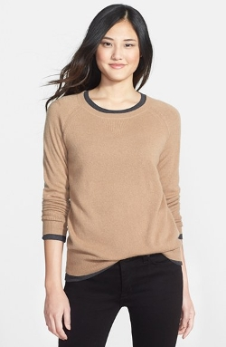 Halogen - Solid Cashmere Sweater