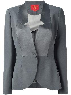 VIVIENNE WESTWOOD RED LABEL  - contrast panel blazer
