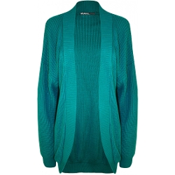 Wearall.com - Bethany Open Knitted Fisherman Cardigan