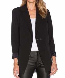 Olcay Gulsen - Tailored Georgette Blazer