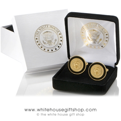 The White House Gift Shop - Presidential Eagle Sculpted Cufflinks